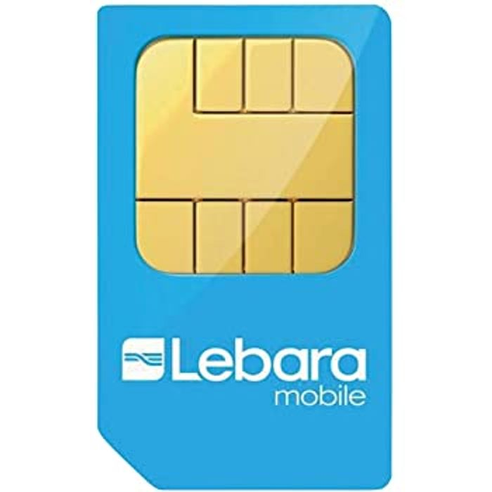 Lebara 1/2 Price Sim Only for 3 Months From £2.50 - No Contract