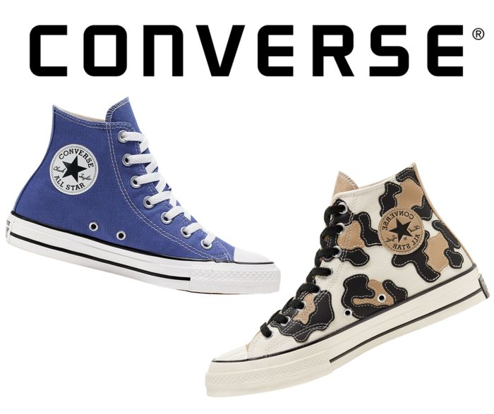 Converse January Sale - Up to 50% off Trainers, Clothes & More