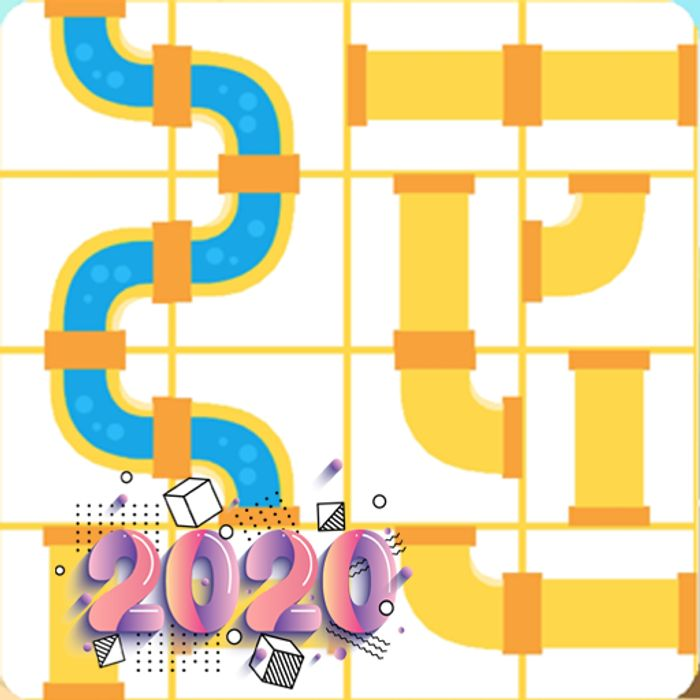 Pipes Puzzle Game - 2020 - Usually £0.59