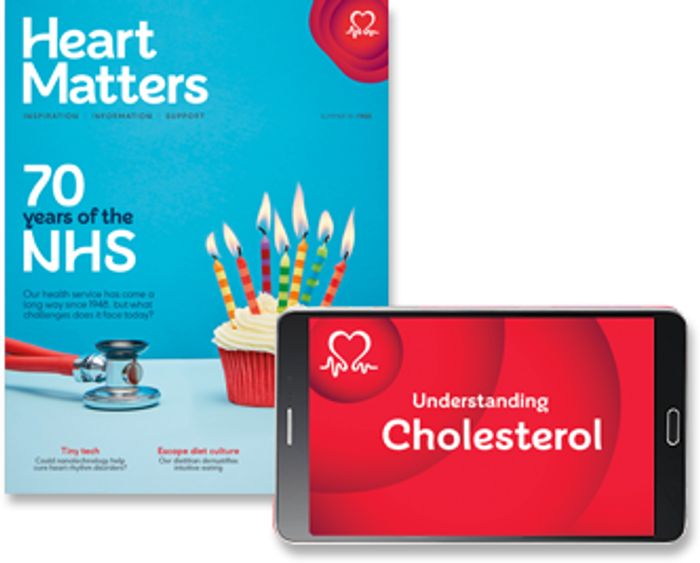 Free Booklets and Heart Matters Magazine from British Heart Foundation
