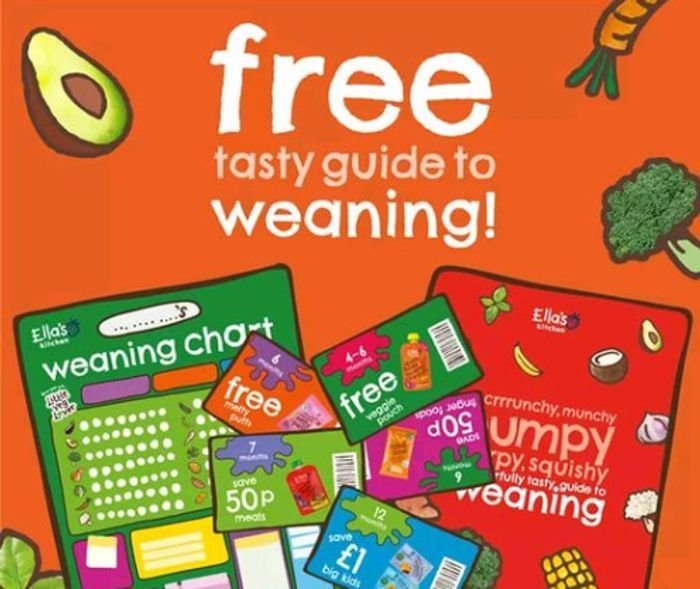Vouchers, Weaning Wall Chart and Stickers from Ella's Kitchen