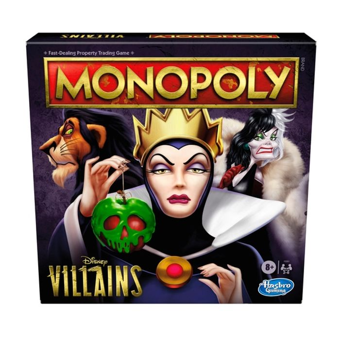 Monopoly Disney Villains Board Game
