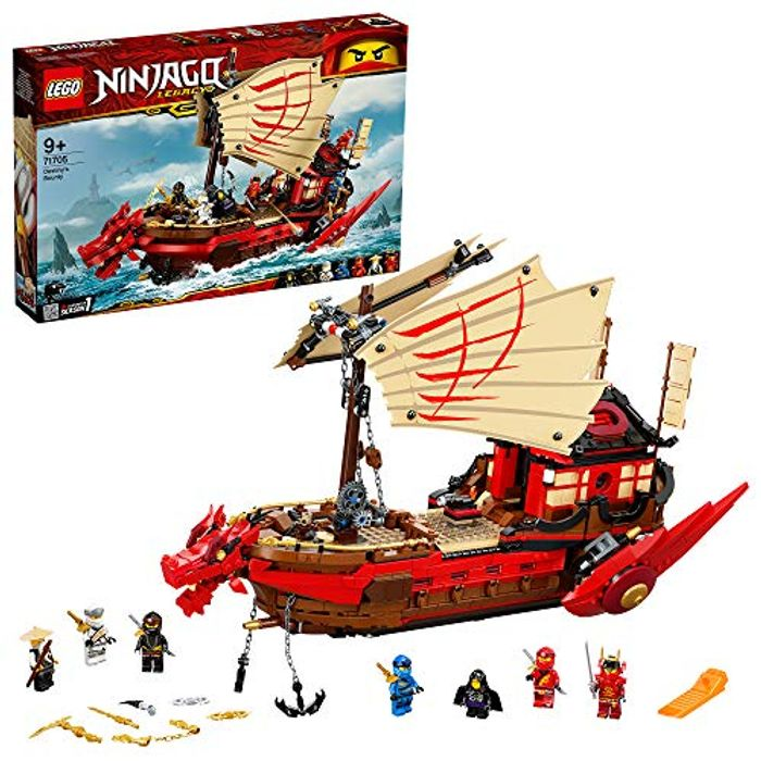 BEST EVER PRICE LEGO 71705 NINJAGO Legacy Destiny's Bounty