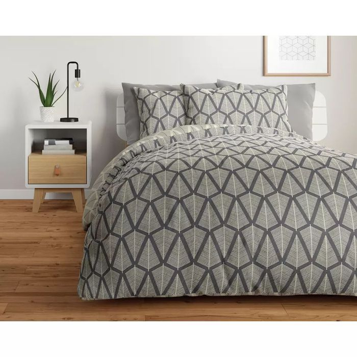 Argos Home Grey Trees Bedding Set 50% Off