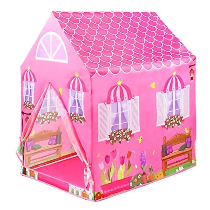 Foldable Princess Play House Doll Houses