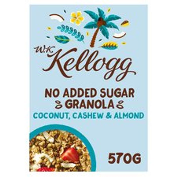 Wk Kellogg's No Added Sugar Coconut Granola £2 inTesco after Cashback