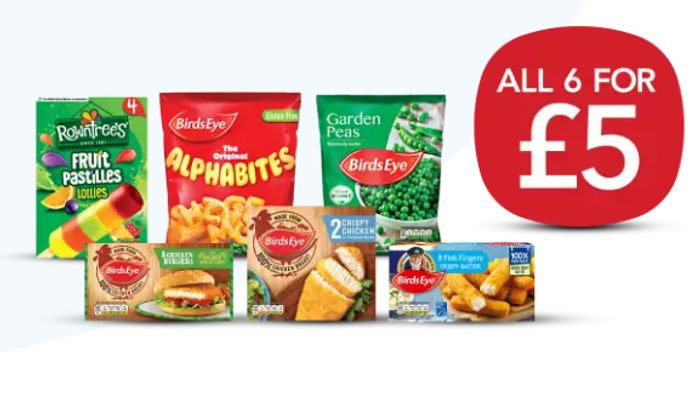 NEW! Co-Op Freezer Filler Meal Deal - Save £5.35