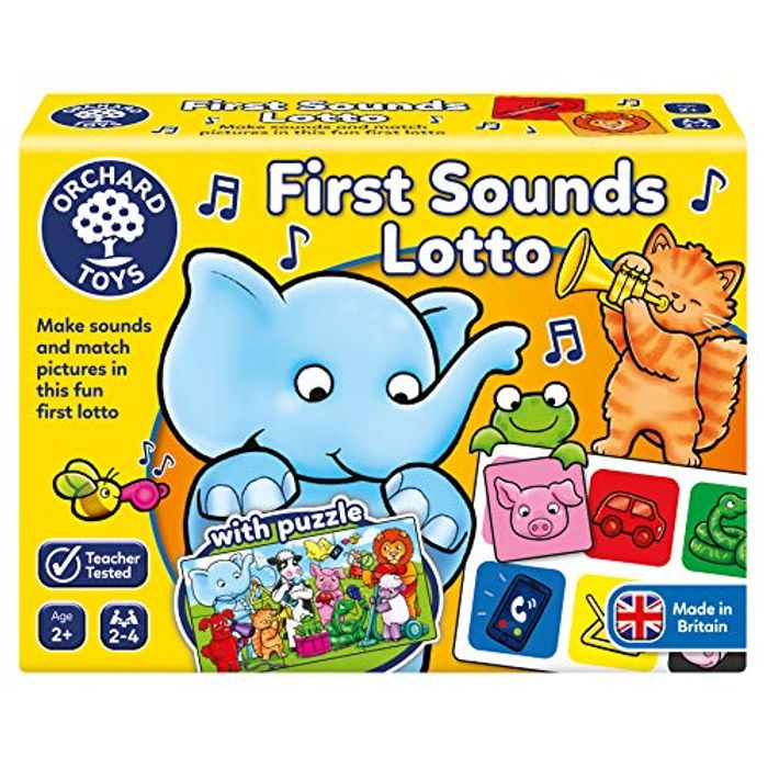 Price Drop! Orchard Toys First Sounds Lotto