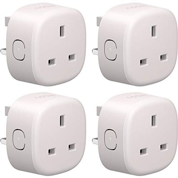 Nooie Smart Plug WiFi Outlet Compatible with Alexa- 4 Pack