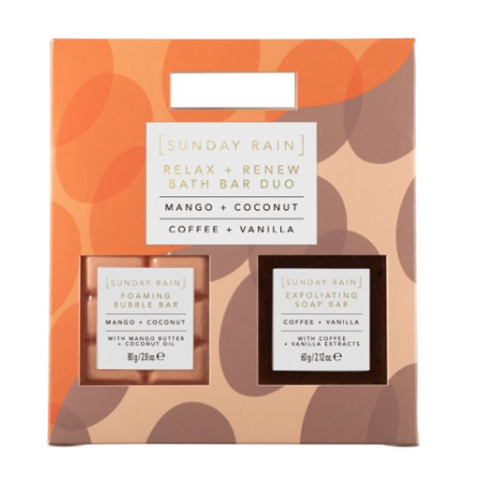 Order and Collect Sunday Rain Relax and Renew Bath Bar Body Duo Set