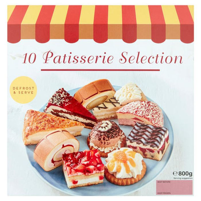 10 Patisserie Selection 800g