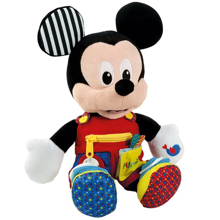 Disney Sensory Plush Baby Mickey