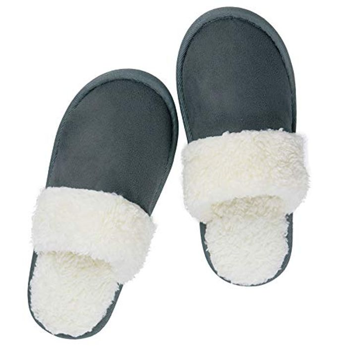 Iemot Mens Womens Slipperss