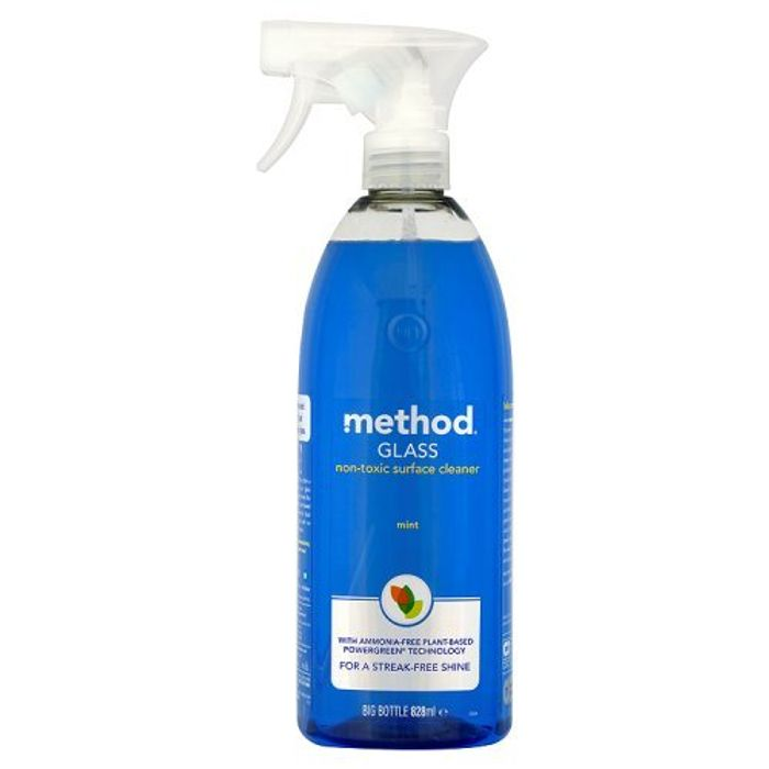 Method Glass Cleaner Spray, 828ml