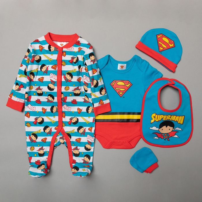 Character Shop - Superman 5-Piece Baby Gift Set