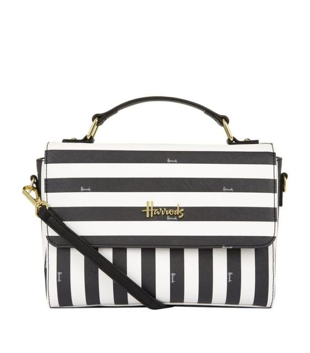 HARRODS  Boutique Multi Stripe Grab Bag