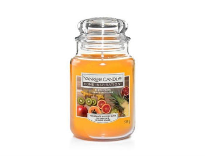 Yankee Candle Exotic Fruits Large Candle Jar
