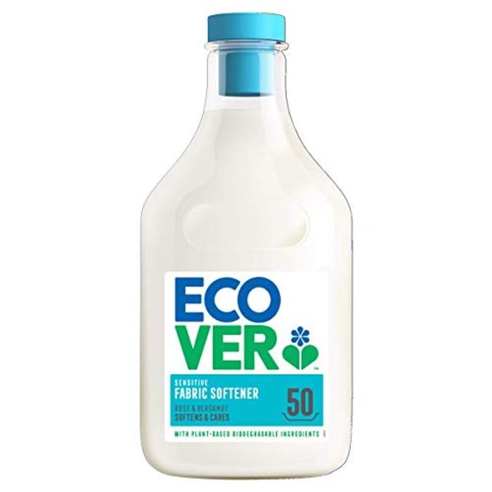 BEST EVER PRICE Ecover Fabric Softener Rose & Bergamot, 50 Wash