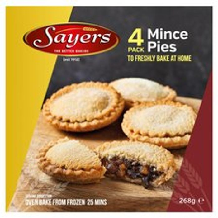 BAKE AT HOME Mince Pies *4 Pack