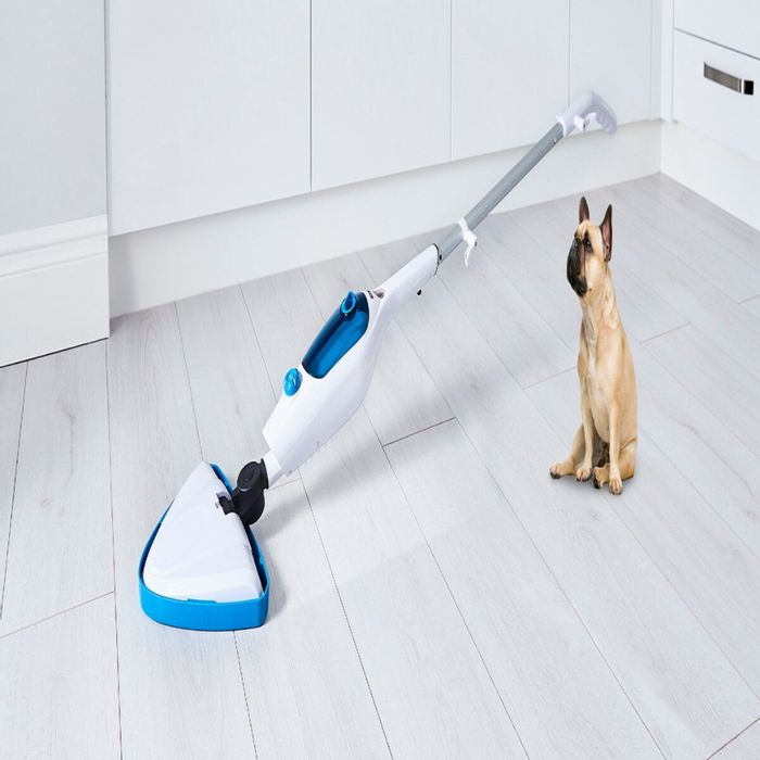 *SAVE £50* Tower 16-in-1 Multi Function 400ml Steam Mop - Blue