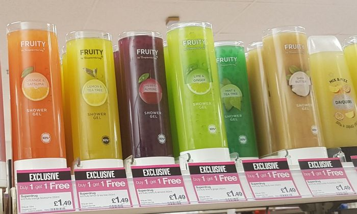 Buy One Get One Free Shower Gel