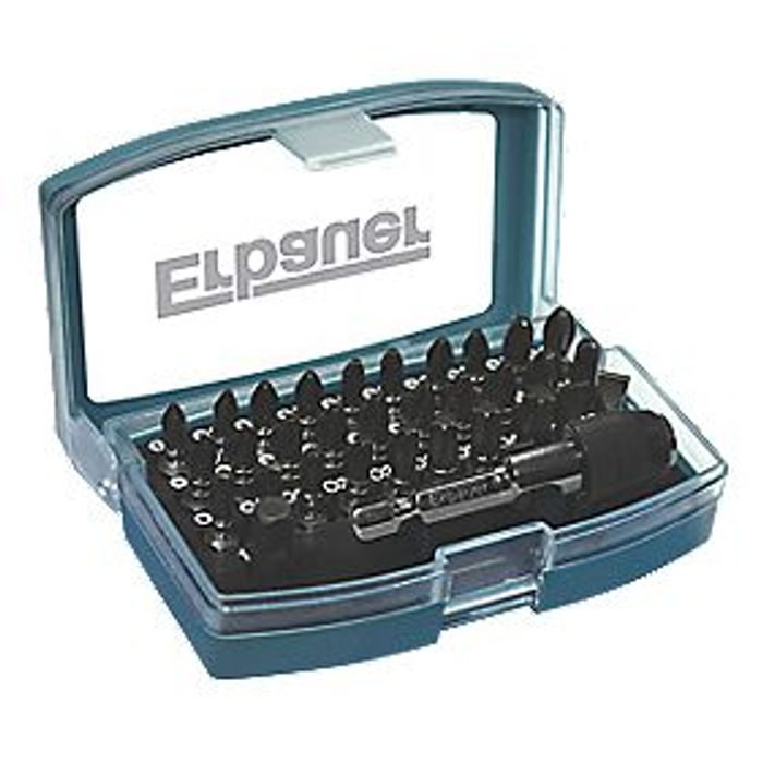 1/2 Price - Erbauer Mixed Impact Screwdriver Bit Set 32 Pcs