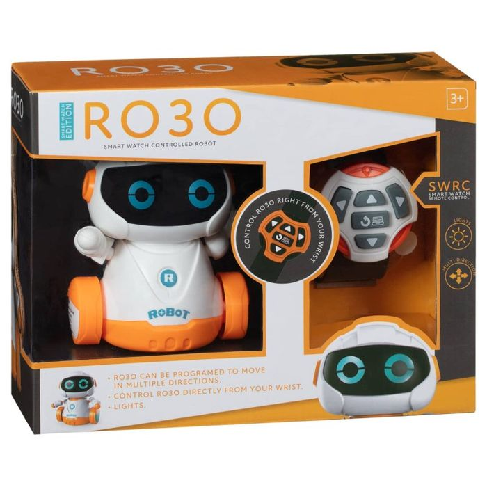 RO30 Smart Interactive Watch Controlled Robot