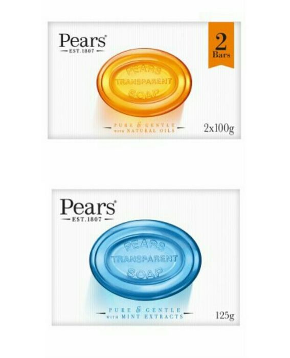 Pears Transparent Soap 2 X 100g 86p / Pears Pure & Gentle 125g 46p