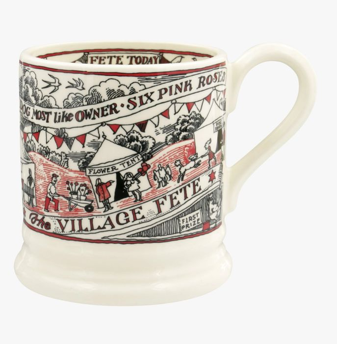 Village Life Village Fete 1/2 Pint Mug