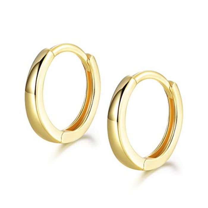 DEAL STACK - Shuxin 925 Sterling Silver Hoop Earrings + 10% Coupon