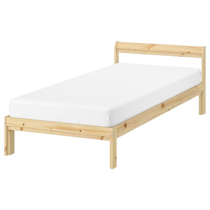 NEIDEN Bed Frame, pineStandard Single
