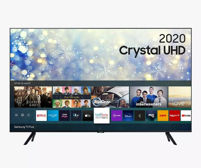 "Samsung 43"" HDR 4K Crystal UHD Smart TV 5 Year Guarantee - £349"