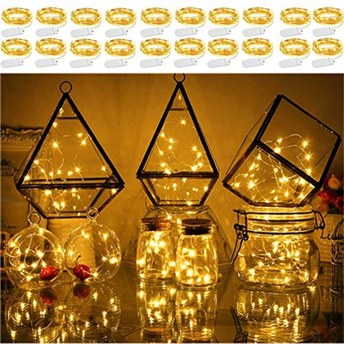 Deal Stack! LED Fairy Micro String Lights 20 Pack