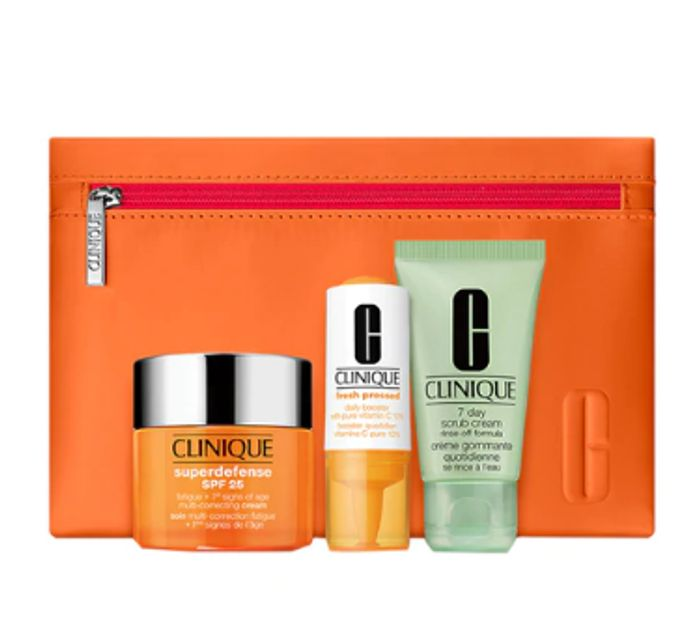 CLINIQUE Daily Defense Skincare Gift Set for Her - Only £28!