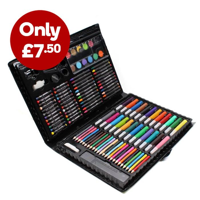 Deluxe Art Set 120 Pieces ONLY £7.50