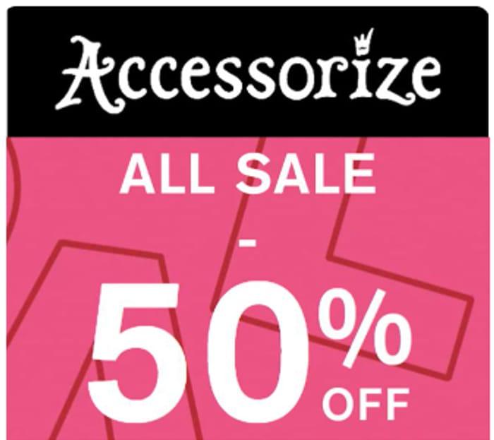 Accessorize Sale - 50% off
