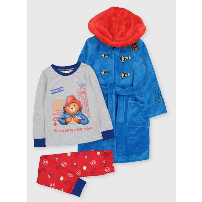 Paddington Pyjamas & Dressing Gown