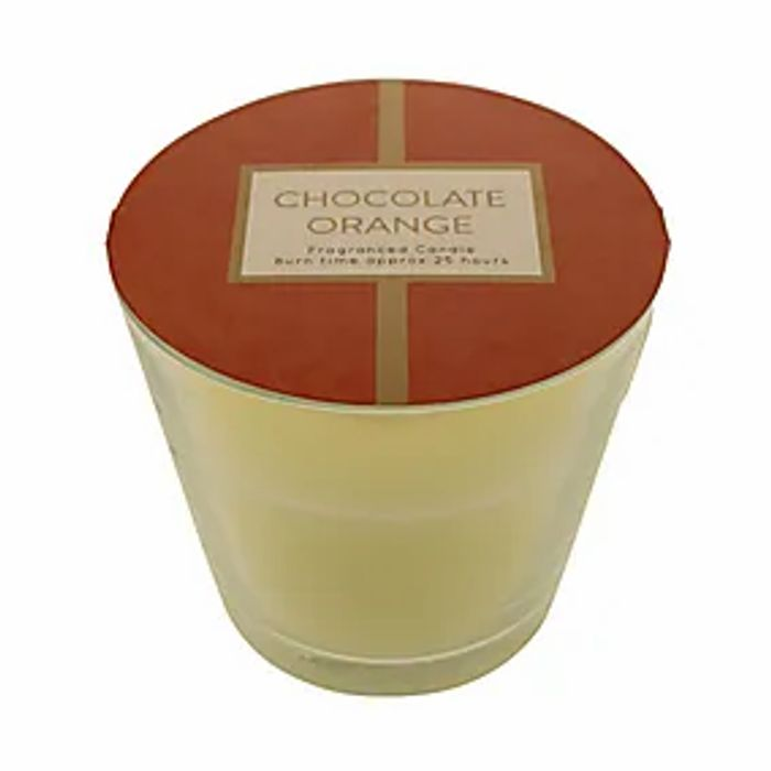 Cheap Chocolate Orange Candle Only 25p