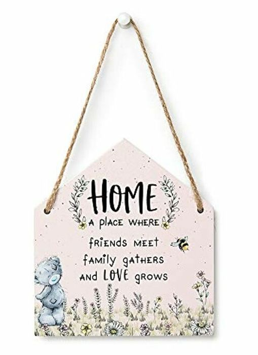 Me to You Tatty Teddy Wooden Gift Plaque