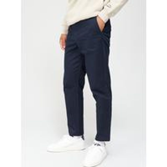 River Island Axis Chino Tapered - Navy 3 Reviews - Only £5.60!