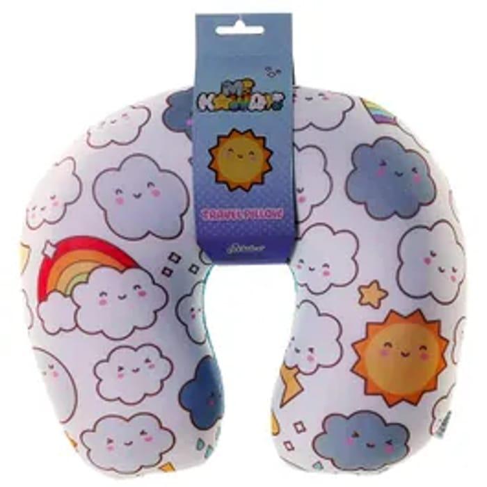 Weather Emoji Travel Pillow