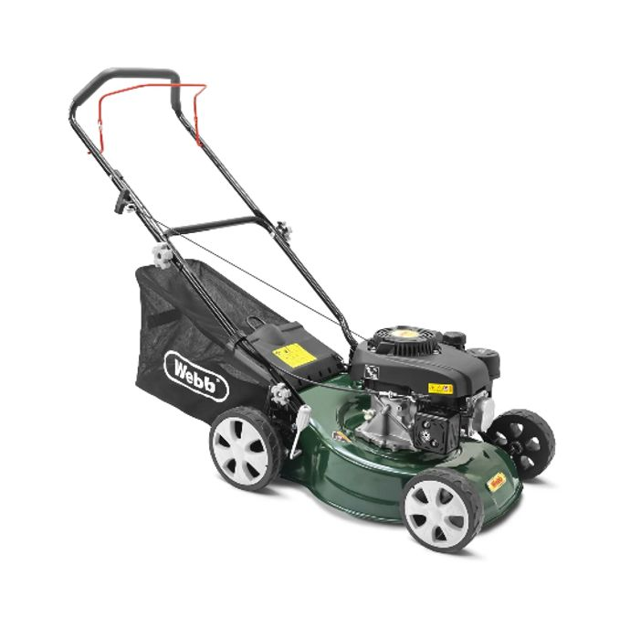 GLITCH! Webb Classic Petrol Rotary Lawnmower - Only £11 Delivered