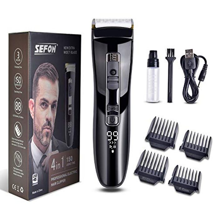 Men's Hair Clipping Kit Only £7.99 (Prime Delivery)