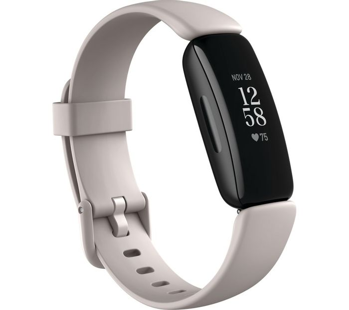 *SAVE £15* FITBIT Inspire 2 - White/Black/Pink