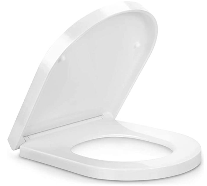 Soft Close Toilet Seat with Quick Release