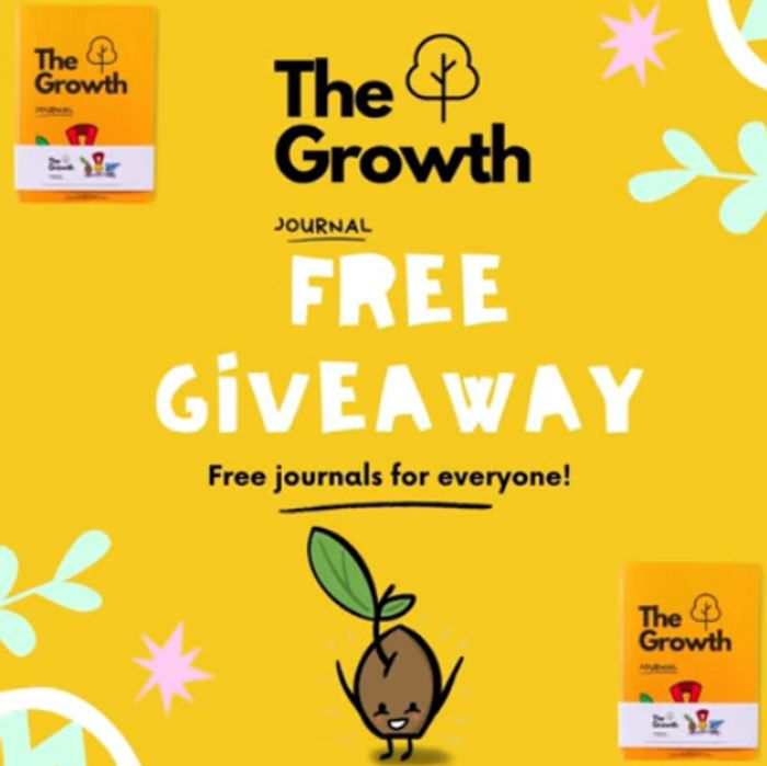Free Growth Journal Giveaway!