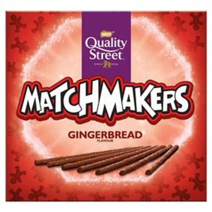 Quality Street Matchmakers Gingerbread Flavour 120g