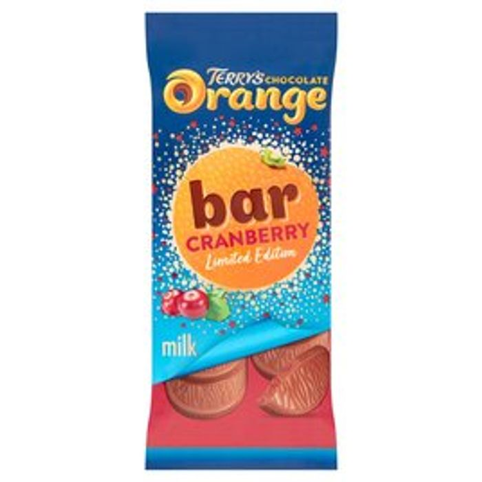 Terry's Chocolate Orange Cranberry 90g