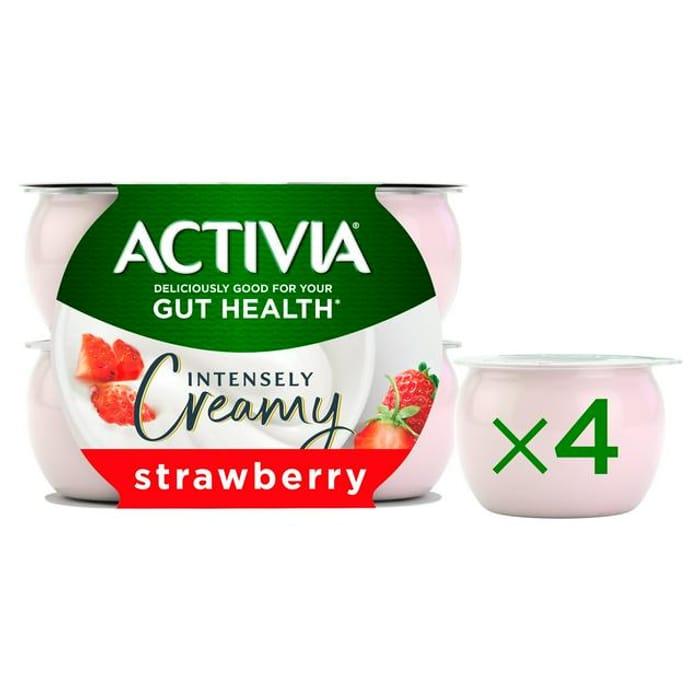 Activia Intensely Creamy Yogurt 4x110g