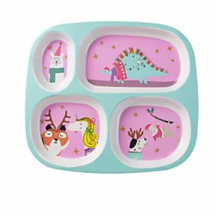 Christmas Animals Divider Plate